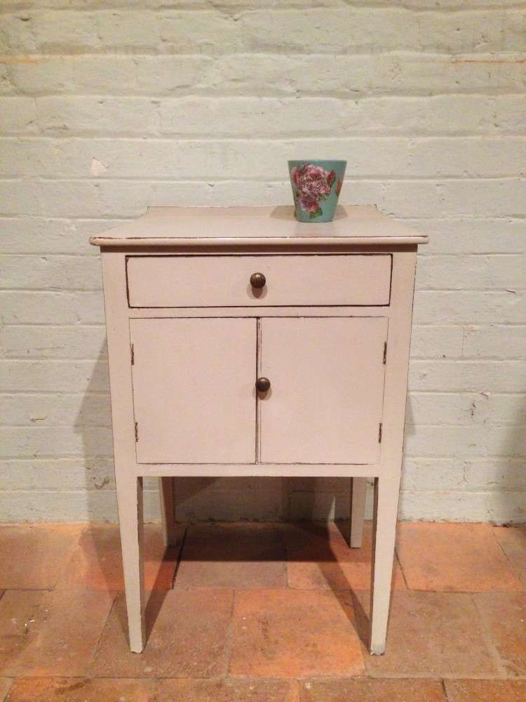 Georgian Painted Mahogany Bedside Cupboard SOLD- Ref:1081