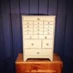Mid Victorian Painted Pine Watch Makers Chest SOLD- Ref:1084
