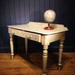 Mid Victorian Painted Pine Writing Dressing Table SOLD- Ref:1088