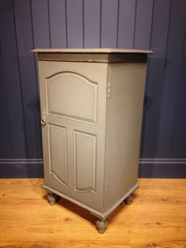 Mid 19th Century Painted Mahogany Cupboard SOLD- Ref:1095