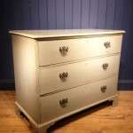 George III Painted Mahogany Pine Chest Of Drawers SOLD- Ref:1093