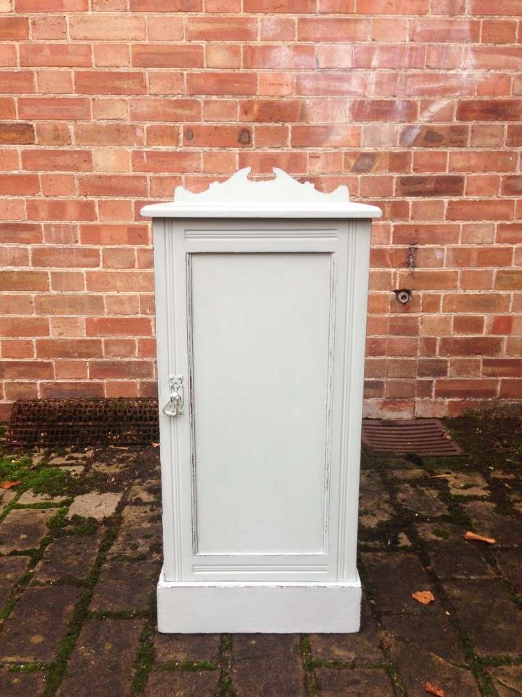 Edwardian Painted Mahogany Bedside Cupboard SOLD- Ref:1101
