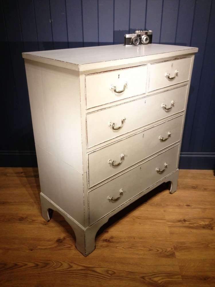 Regency Painted Mahogany 5 Drawer Chest  SOLD- Ref:1109