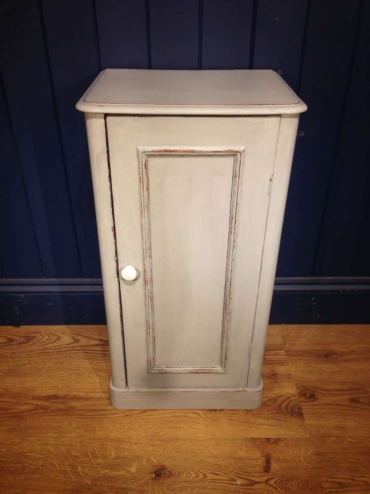 Mid Victorian Painted Pine Bedside Cupboard SOLD- Ref:1106