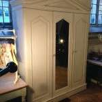 William IV Painted Mahogany Triple Wardrobe SOLD- Ref:1111