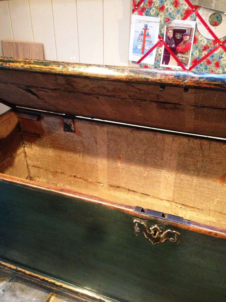 Regency Painted Pine Blanket Box