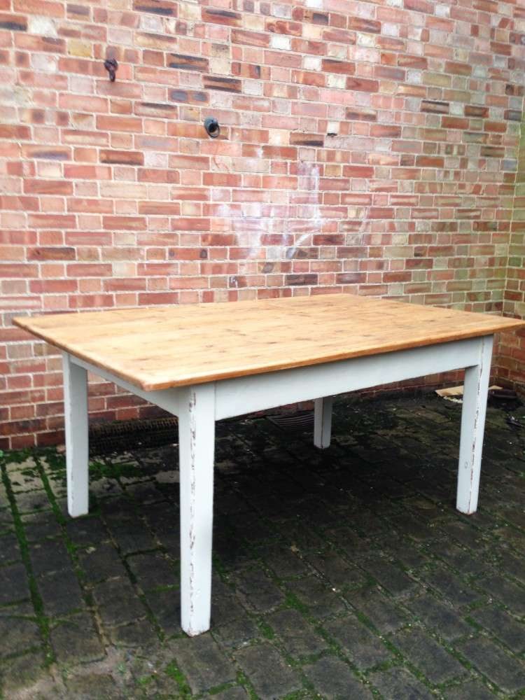 Mid 19th Century Cottage Kitchen Table SOLD- Ref:1113
