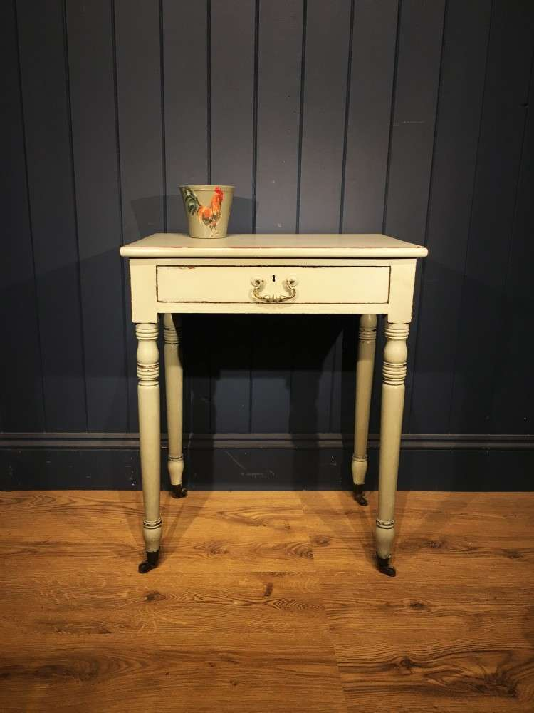 Early 19th Century Painted Mahogany Side Table