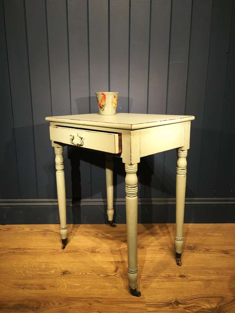 Early 19th Century Painted Mahogany Side Table2