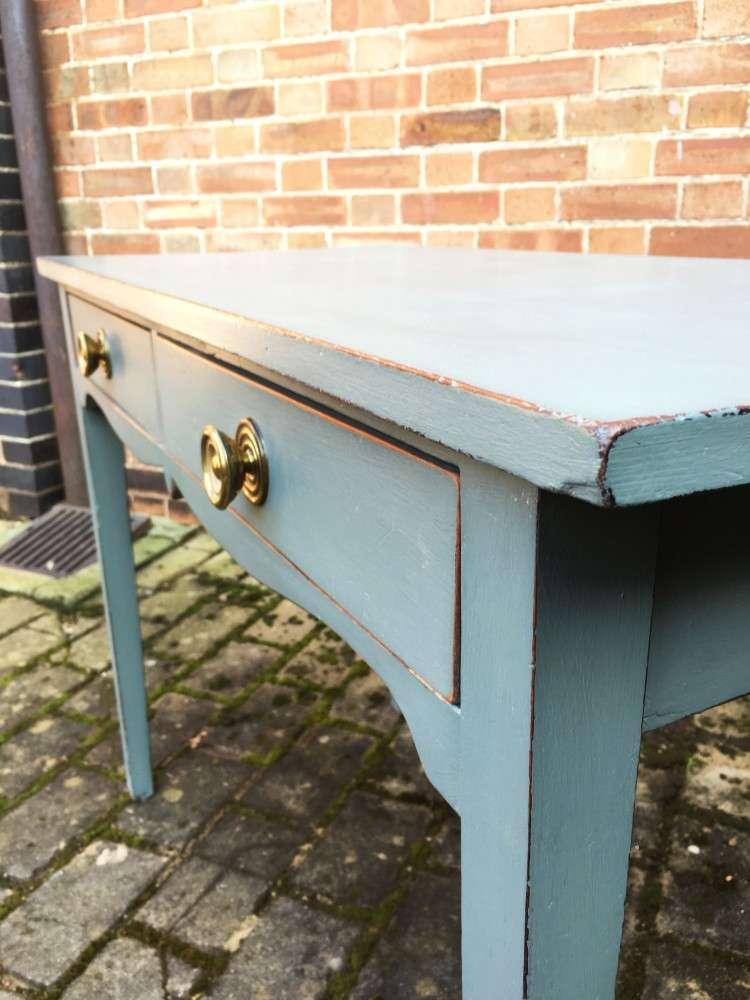 Regency Painted Mahogany Side Table3