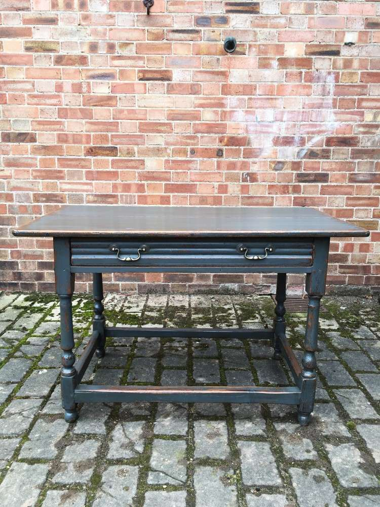 Georgian Painted Oak & Pine Country Table SOLD- Ref:1129