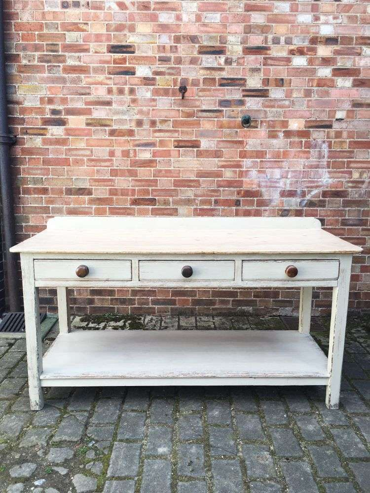 Early 19th Century Painted Pine Serving Table SOLD- Ref:1132