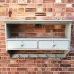 Victorian Painted Pine Kitchen Shelves SOLD- Ref:1134