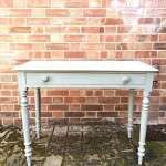 Late 19th Century Painted Pine Cottage Side Table SOLD- Ref:1138