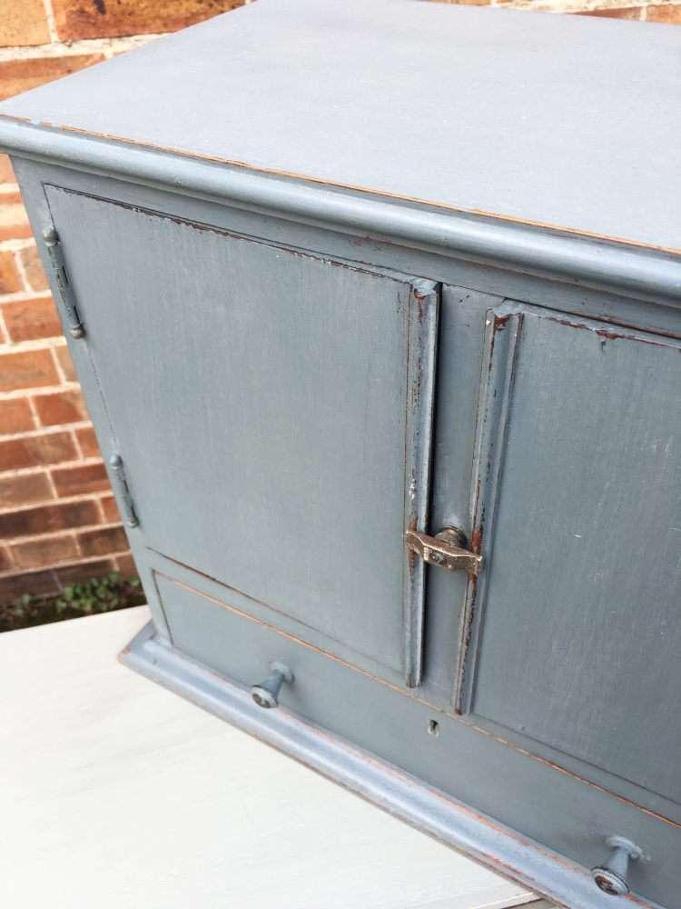 Edwardian Painted Mahogany Table Cabinet3
