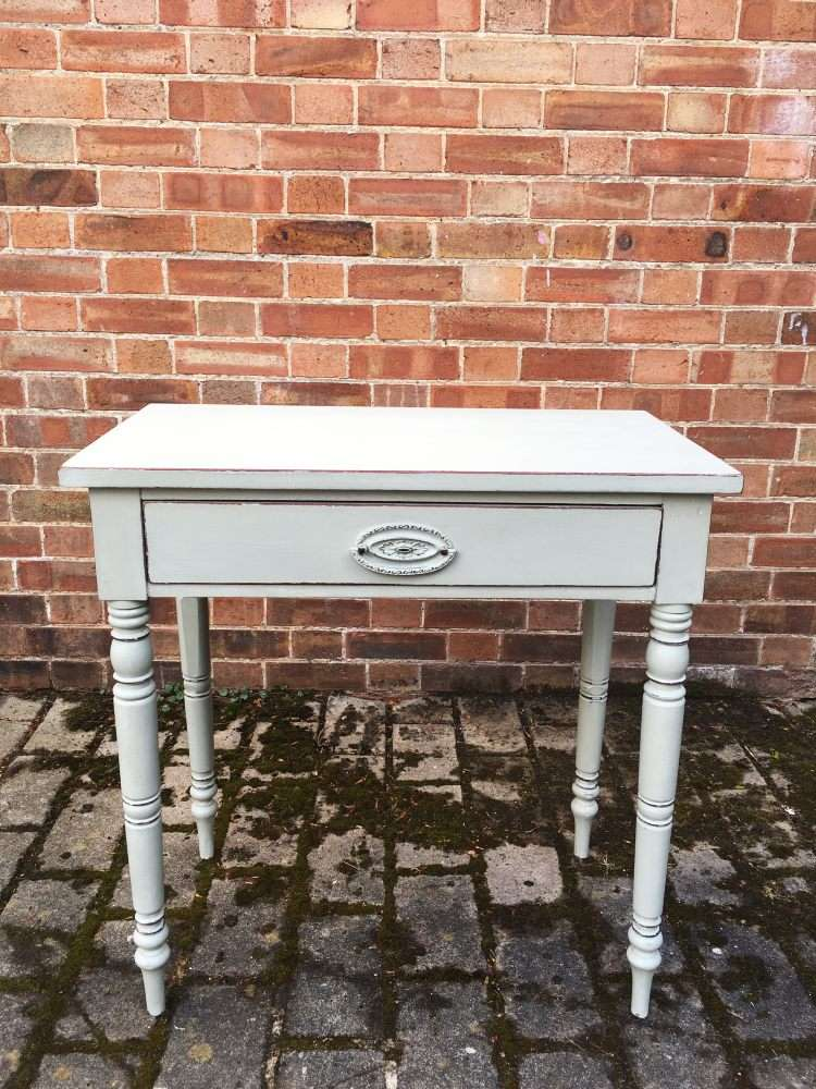 Victorian Painted Mahogany Side Table  SOLD- Ref:1145