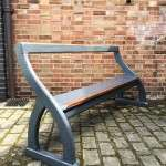 Late Victorian Painted Pine Bench Pew SOLD – Ref:1140