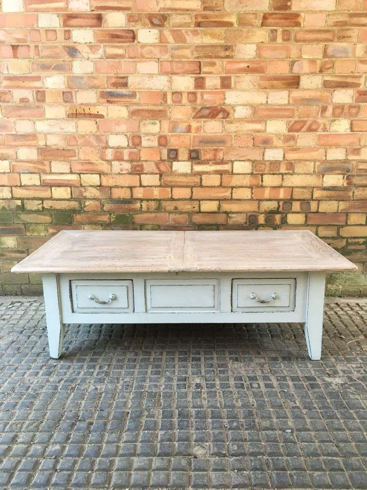 Painted Oak Coffee Table SOLD- Ref:1150