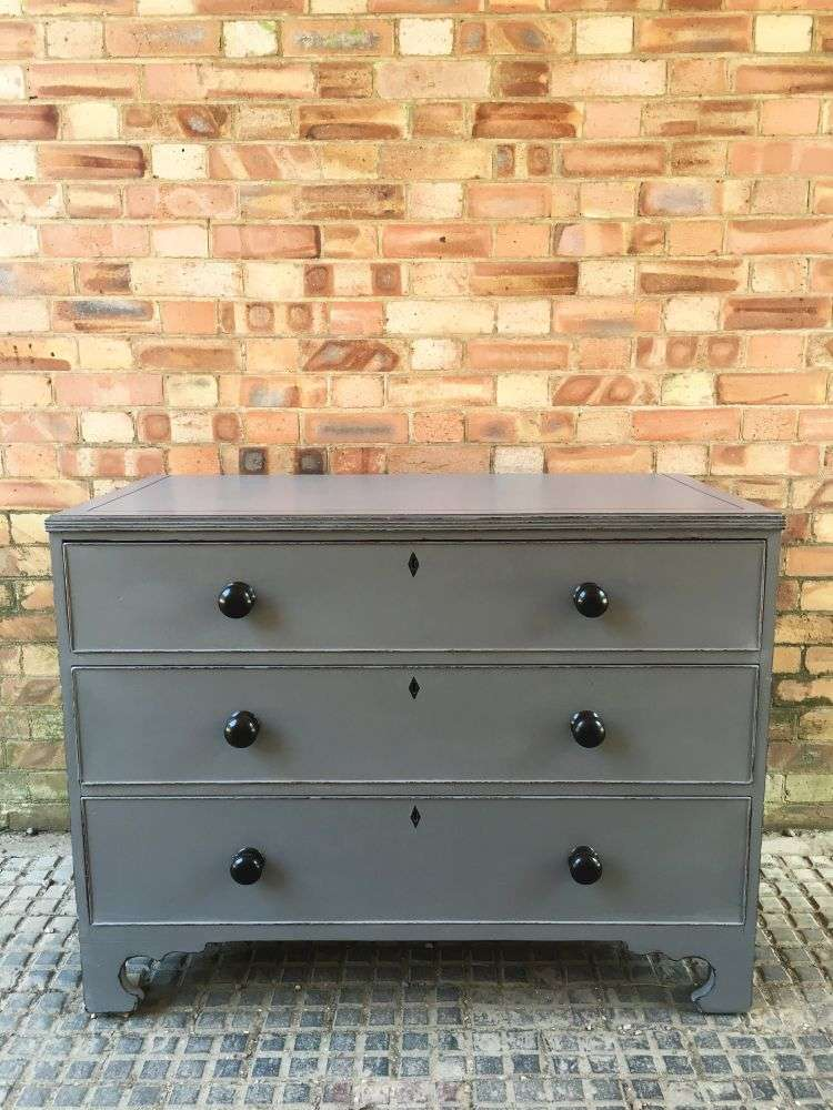 Georgian Painted Mahogany Chest Of Drawers SOLD- Ref:1147