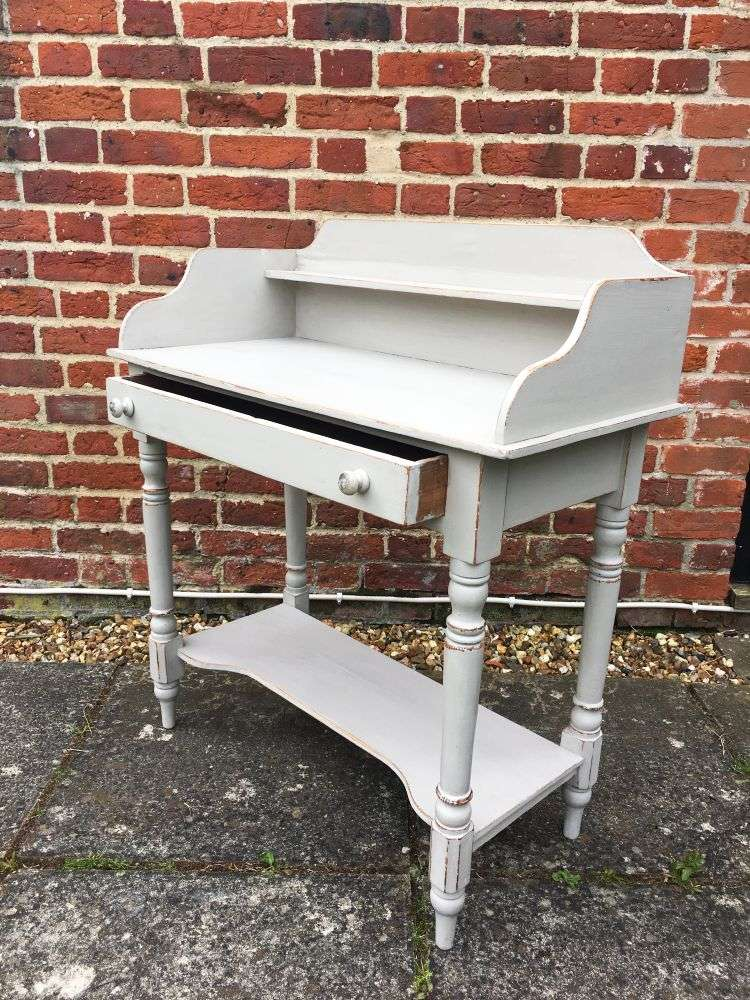 Victorian Painted Pine Washstand2