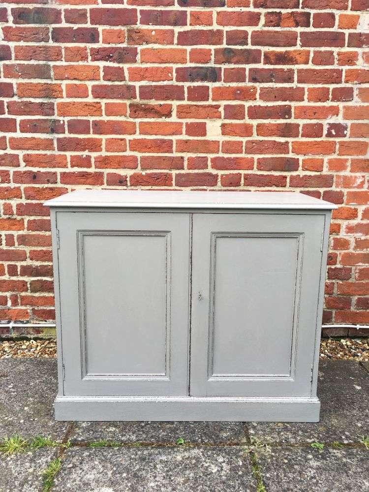 Edwardian Painted Walnut Cupboard SOLD- Ref:1156