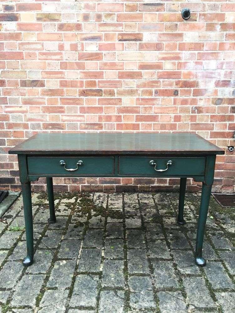 Georgian III Painted Oak Club Foot Table SOLD- Ref:1157