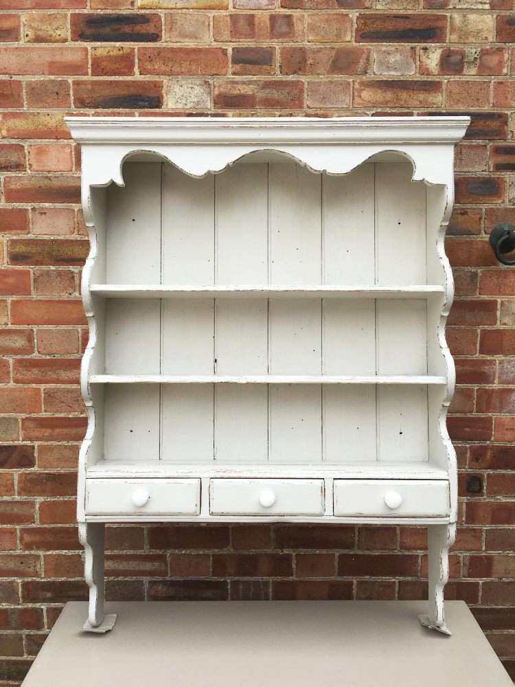 Painted Pine Hanging Kitchen Shelves SOLD- Ref:1162