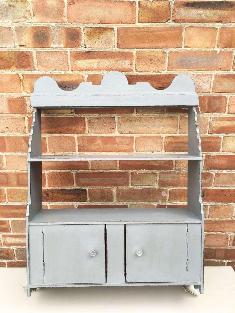 Edwardian Painted Oak Wall Cabinet SOLD- Ref1163