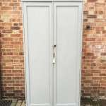 Victorian Painted Pine Larder or Linen Cupboard SOLD- Ref:1165
