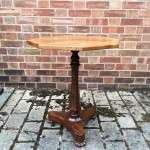 William IV Rosewood & Walnut Occasional Table SOLD- Ref:1168