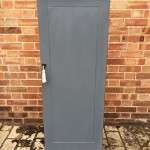 Mid Victorian Painted Mahogany Narrow Cupboard SOLD- Ref:1173