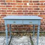 Mid Victorian Painted Ash Writing Table SOLD- Ref:1175