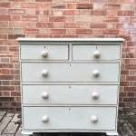 Mid Victorian Painted Pine Cottage Chest SOLD- Ref:1178