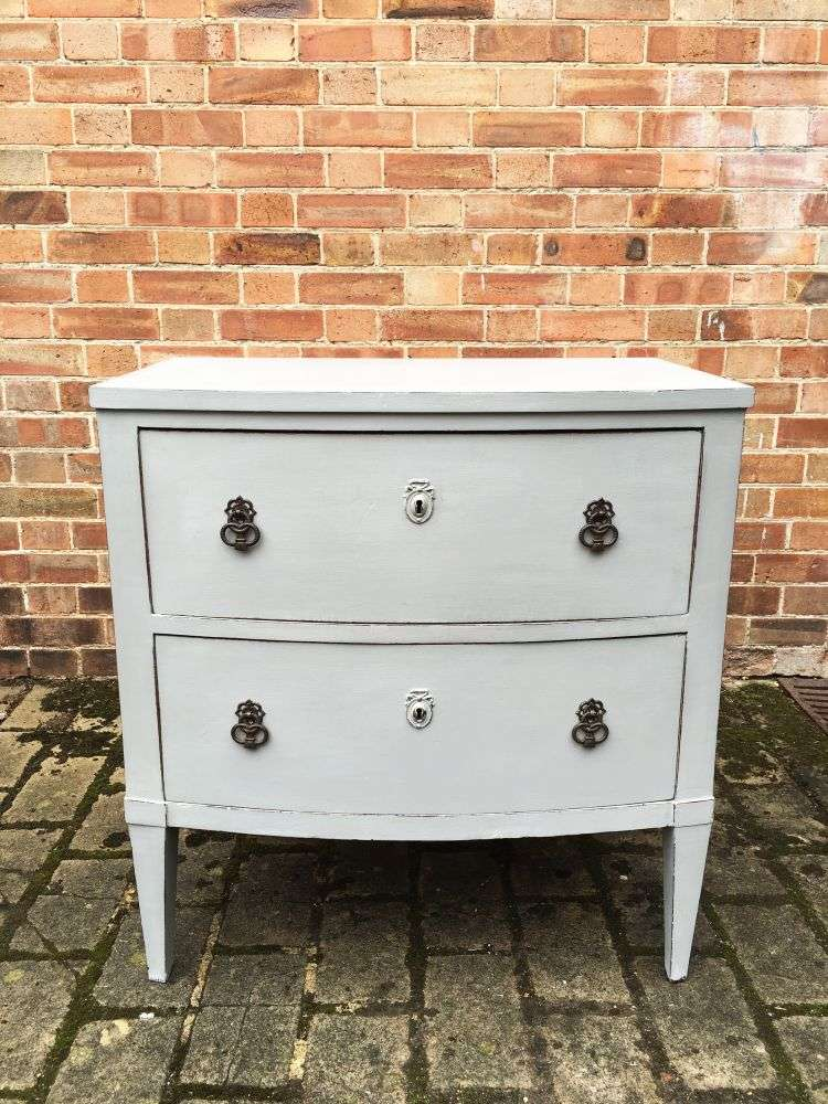 Regency Painted Mahogany French 2 Drawer Chest SOLD- Ref:1191