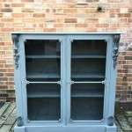Mid Victorian Painted Mahogany Glazed Bookcase SOLD- Ref:1204