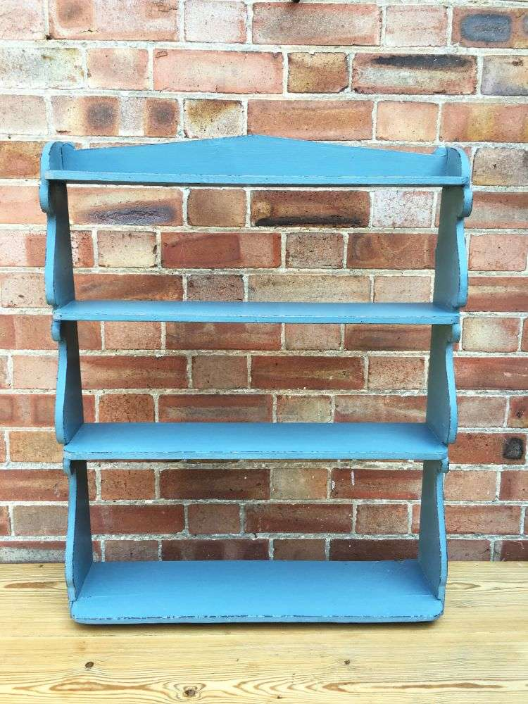 Early Victorian Painted Pine Hanging Shelves SOLD- Ref:1205