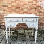 William IV Painted Mahogany Dressing Writing Table SOLD- Ref:1208