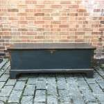 Regency Painted Pine Blanket Box SOLD- Ref:1207