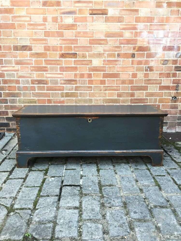 Regency Painted Pine Blanket Box SOLD- Ref:1207