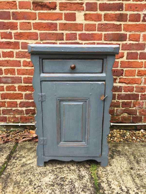 Hungarian Painted Pine Cupboard SOLD- Ref:1219