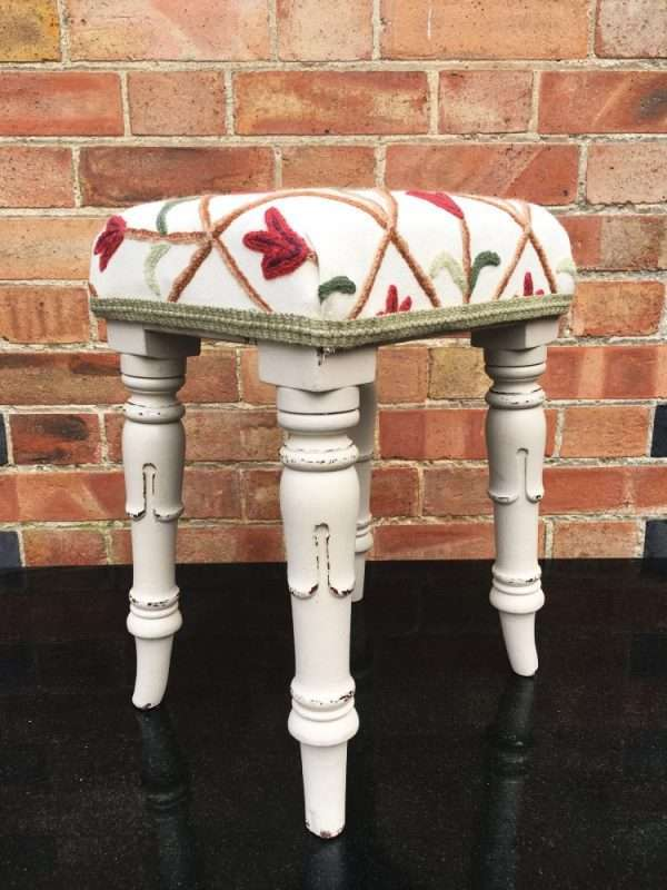 William IV Painted Mahogany Stool  SOLD- Ref:1224