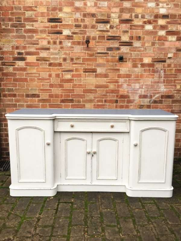 Mid Victorian Painted Mahogany Sideboard  SOLD- Ref:1226