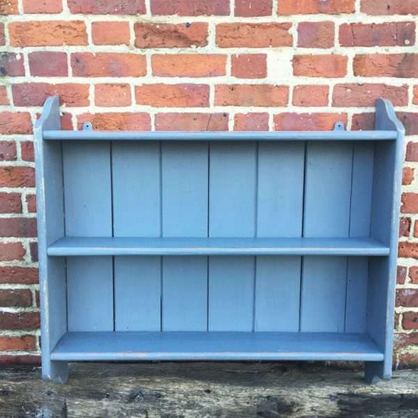 1920's Painted Pine Hanging Shelves
