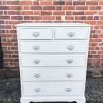Edwardian Painted Mahogany Chest Of DrawersSOLD – Ref:1233