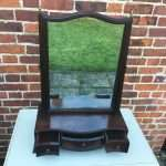 George III Mahogany Toilet Mirror SOLD- Ref:1234
