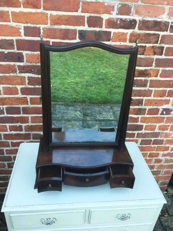 George III Mahogany Toilet Mirror SOLD- Ref:1234