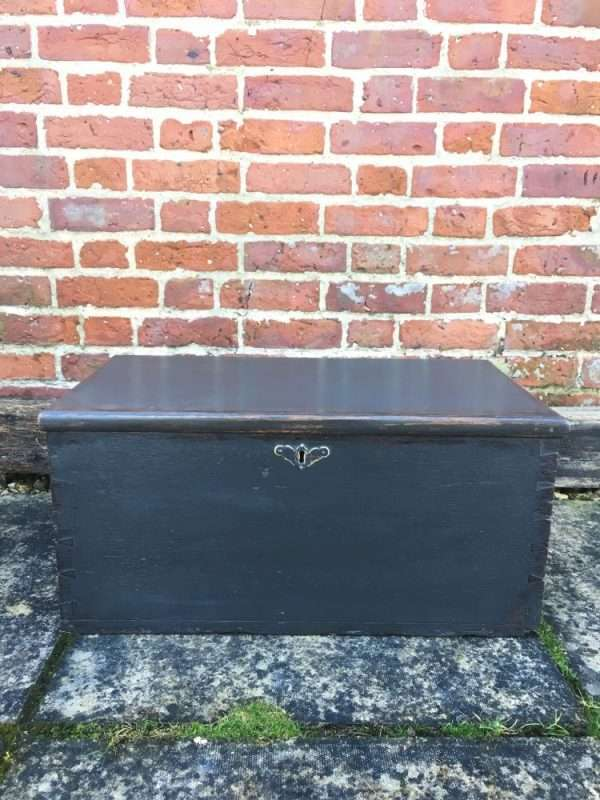 Late Victorian Painted Oak Box SOLD- Ref:1236