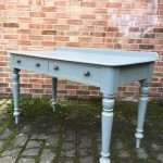 Mid Victorian Painted Pine Writing Desk Table SOLD- Ref:1245