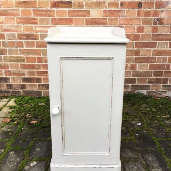 Late Victorian Painted Pine Pot Cupboard