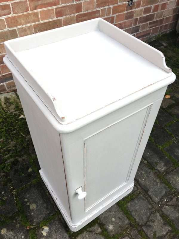 Late Victorian Painted Pine Pot Cupboard SOLD – Ref:1244